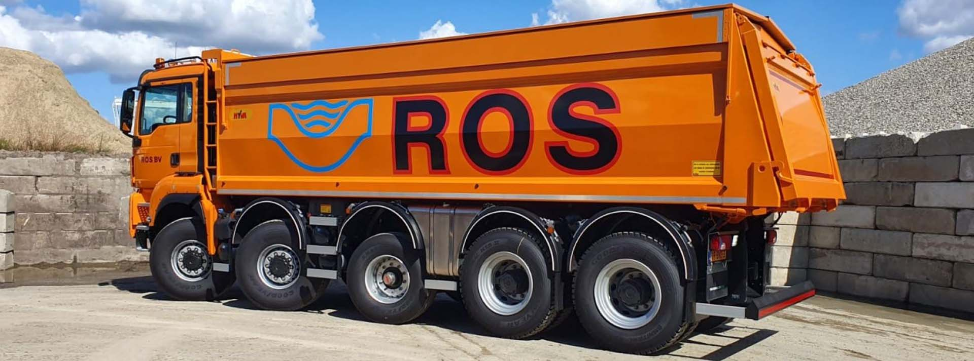 ROS vrachtwagen